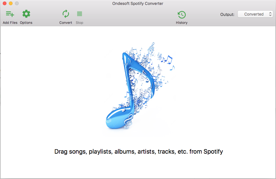 spotify to USB converter